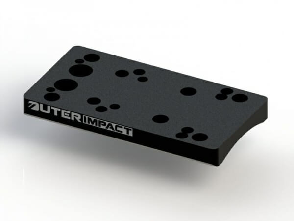 Outerimpact Universal Red Dot Adapter für SIG P365