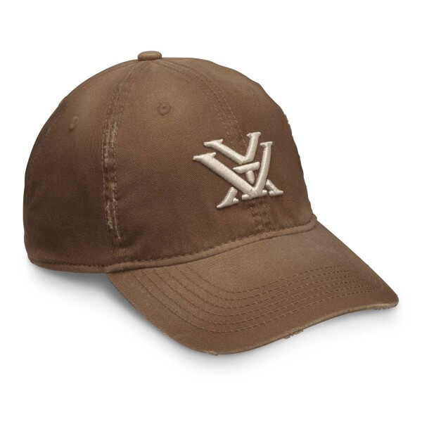 Vortex Chestnut Distressed Cap