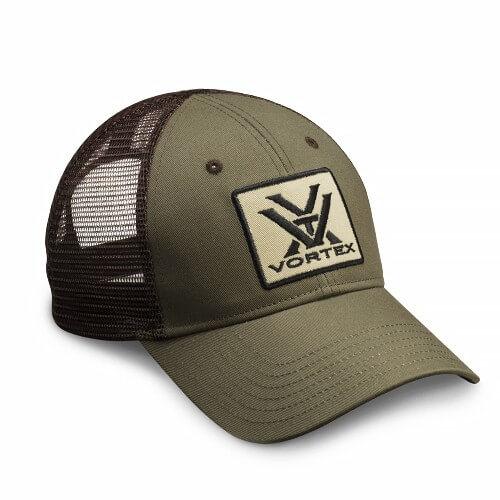 Vortex Cap Logo grün/braun