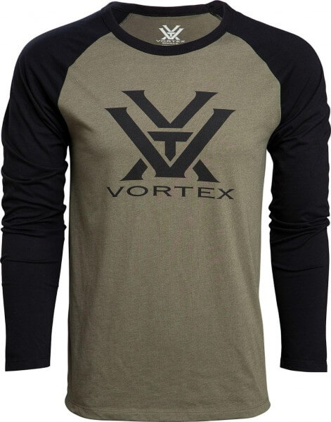 Vortex Raglan Core Shirt military