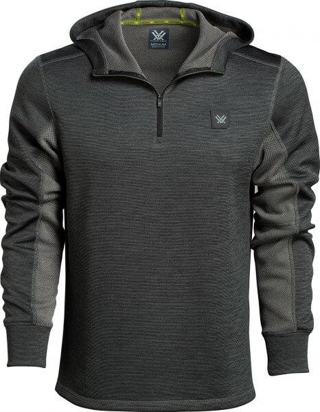 Vortex Frontier Limits Hooded Pullover grau