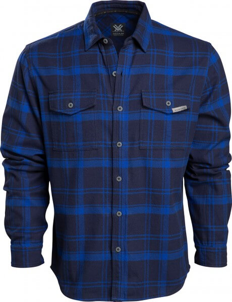 Vortex Timber Rush Flanellhemd blue
