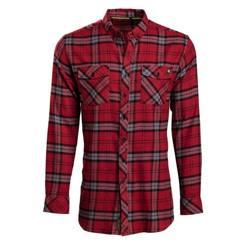Vortex Red Flanell Shirt