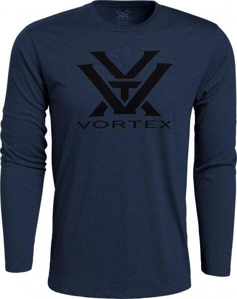 Vortex Core Logo Shirt LS navy