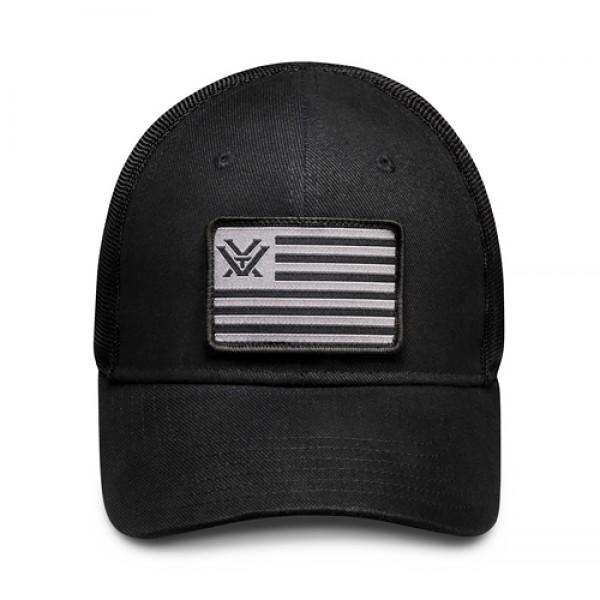 Vortex black Patch Cap