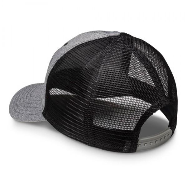 Vortex Patch Cap grau/schwarz