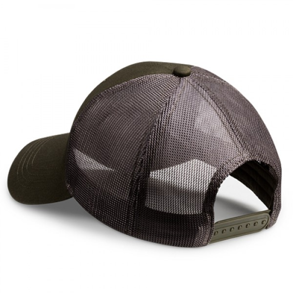 Vortex logo Mesh-Cap grün/grau