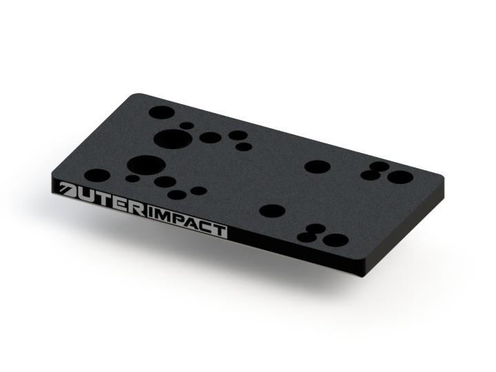 outerimpact universal rotpunkt montage für Glock