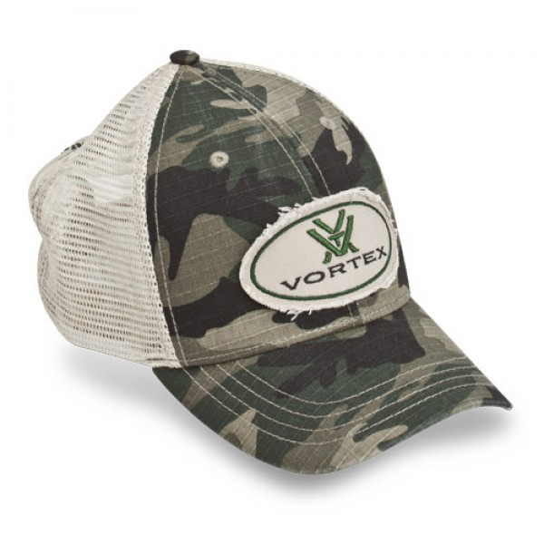 Vortex Cap Logo Camou
