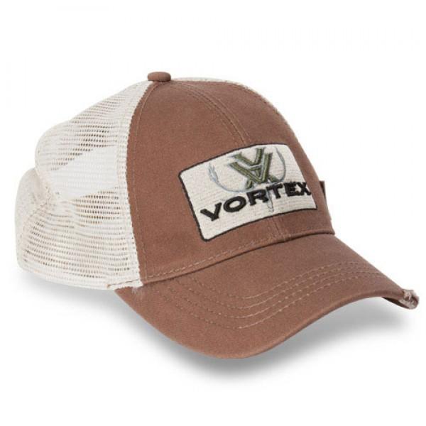 Vortex Elch Cap Logo Braun