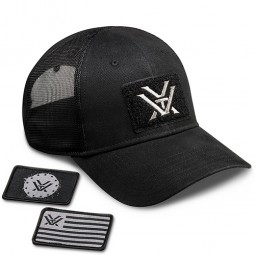 Vortex Patch Cap schwarz