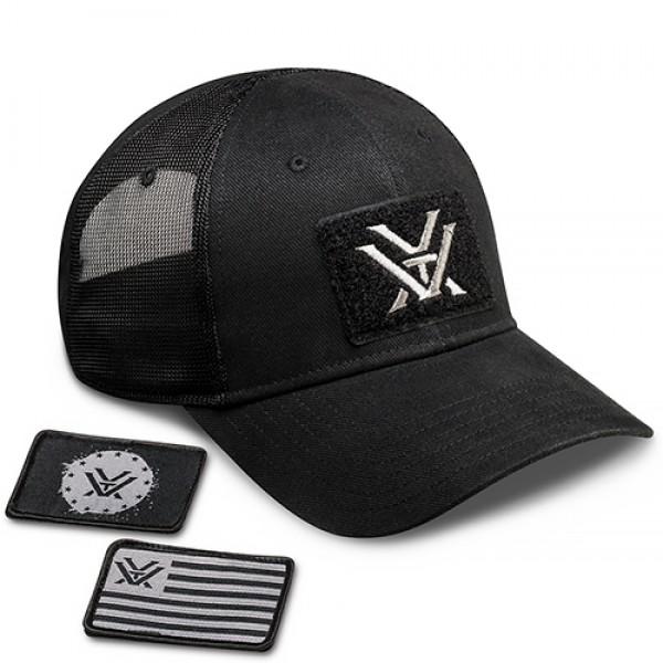 Vortex Patch Cap schwarz