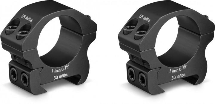 Vortex Pro Series 1 Inch Ringe Low