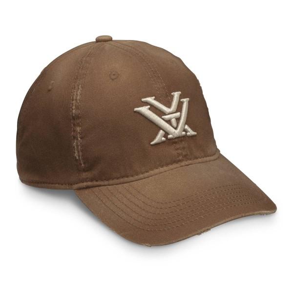 Vortex Chestnut Distressed Cap