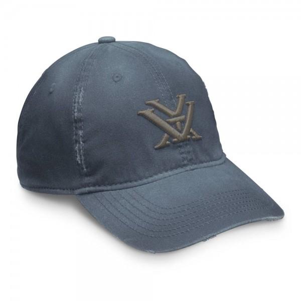 Vortex Navy Distressed Cap